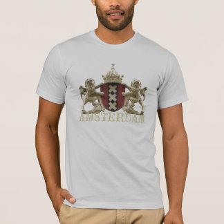 T-shirt Bouclier héraldique d'Amsterdam XXX avec le