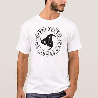 T-shirt Bouclier .png de klaxon d'Odin