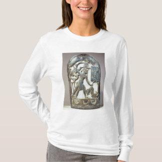 T-shirt Bouclier votif dépeignant le roi massacrant a