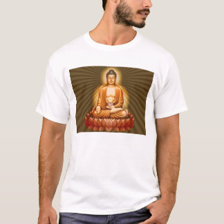 T-shirt Bouddha éclairé