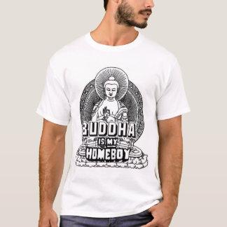 T-shirt Bouddha est mon Homeboy