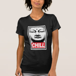 T-shirt Bouddha froid