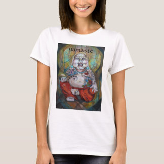 T-shirt Bouddha tatoué heureux