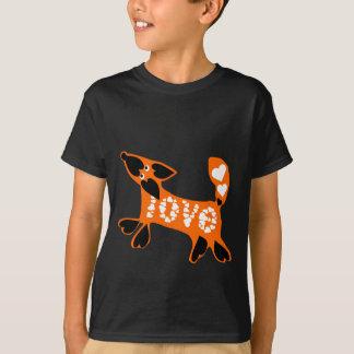 T-shirt boudy love