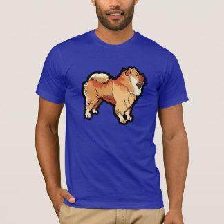 T-shirt Bouffe de bouffe ; Bleu