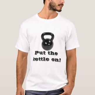 T-shirt Bouilloire dessus