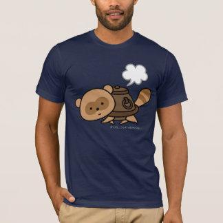 T-shirt - bouilloire Tanuki