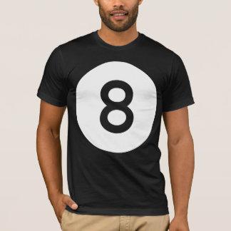 T-shirt Boule 8 boules/huit - nettoyez
