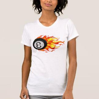 T-shirt Boule 8 de flamber
