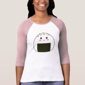 "T-shirt Boule de riz de Kawaii ""Onigiri"" avec des"
