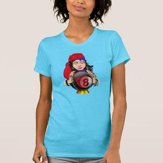 T-shirt Boule w/Gypsy du cristal huit