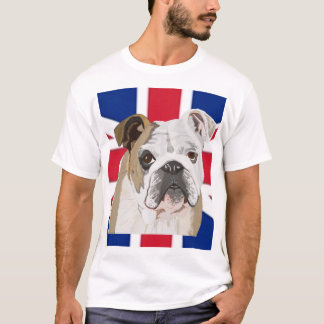 T-shirt Bouledogue anglais