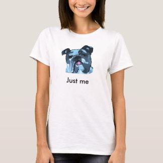 T-shirt Bouledogue anglais fun