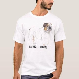 T-shirt bouledogue anglais, tout le chien ...........
