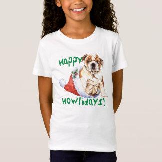 T-Shirt Bouledogue heureux de Howliday