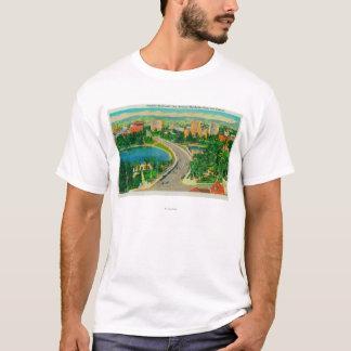T-shirt Boulevard de Wilshire, générateur Douglas