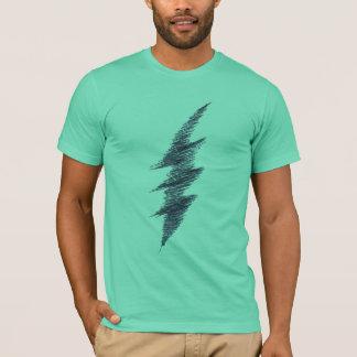 T-shirt Boulon de foudre de griffonnage