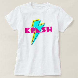 T-shirt boulon de foudre de krash des années 80