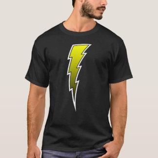 T-shirt Boulon de foudre - jaune