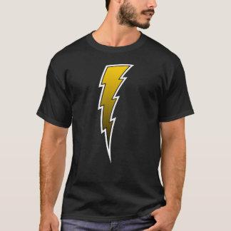 T-shirt Boulon de foudre - or