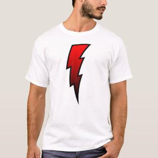 T-shirt Boulon de foudre - rouge