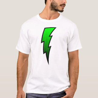 T-shirt Boulon de foudre - vert