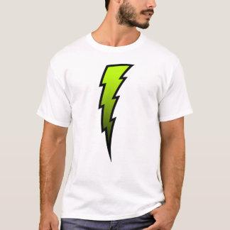 T-shirt Boulon de foudre vert jaunâtre