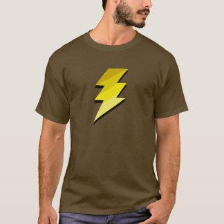 T-shirt Boulon de tonnerre de foudre