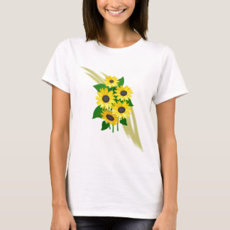 T-shirt Bouquet de tournesols