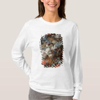 T-shirt Bouquet des fleurs dans un paysage