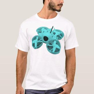 T-shirt Bourdon minuscule de huée d'Inductrix de turquoise