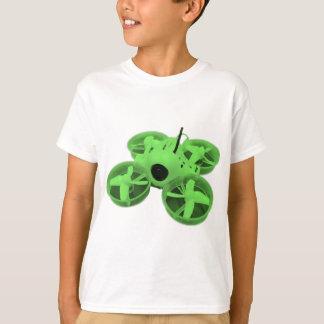 T-shirt Bourdon minuscule vert de huée de Colorblock