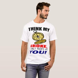 T-shirt Boussole cassée d'amour