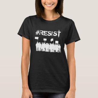 T-shirt Bouton politique d'Anti-Atout de protestataires de