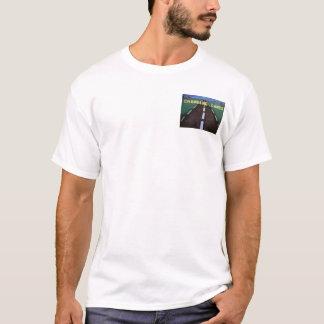 T-shirt Bouton-T changeant de ruelles