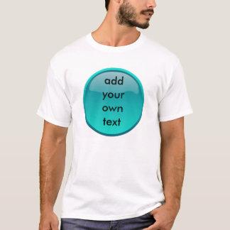 T-shirt bouton vert de seafoam
