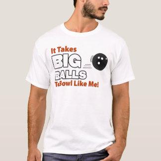 T-shirt Bowling drôle