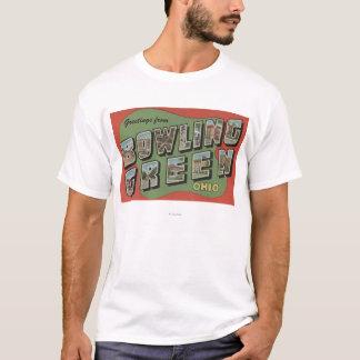 T-shirt Bowling Green, Ohio - grandes scènes de lettre