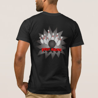T-shirt Bowling personnalisé