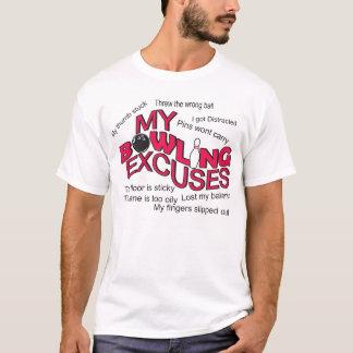 T-shirt bowling t