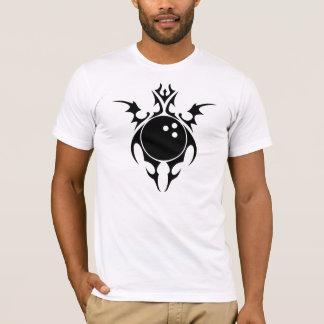 T-shirt bowling tribal