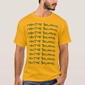 T-shirt Boxe de mante