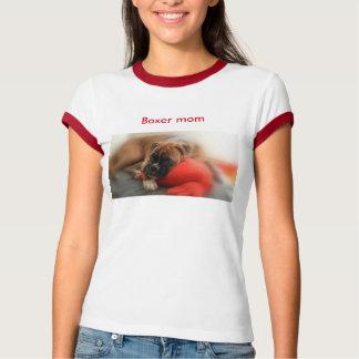T-shirt Boxer mom avec photo