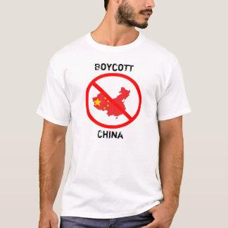 T-shirt Boycott Chine