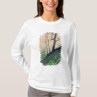 T-shirt Branche d'un prunier fleurissant