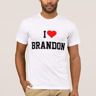 T-SHIRT BRANDON : J'AIME BRANDON