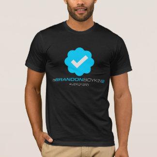 T-shirt @BrandonBoykin2 - Vérifié - noir