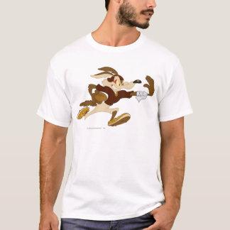 T-shirt Bras raide B/W 2 de coyote du Wile E