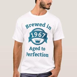 T-shirt Brassé en 1967 âgé à la perfection