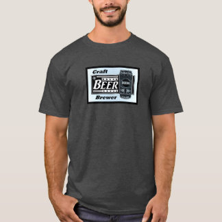 T-shirt Brasseur de bière de métier - étoiles de boîte de